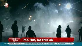 PKK'lıların üzerinde haç kaynıyor!