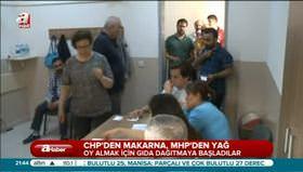 CHP oy için makarna dağıttı!
