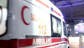 Polis midibüsü devrildi: 24 polis yaralandı