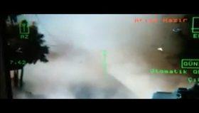 HDP'nin bomba yüklü kamyonu böyle patlatıldı