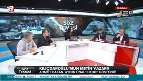 Aydın Ünal'dan Ahmet Hakan'a sert yanıt