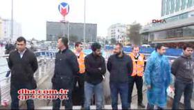Taksim metro istasyonunda panik
