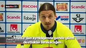 Ibrahimovic'te egonun tavan yaptığı an