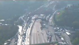 İstanbul Maratonu havadan böyle görüntülendi