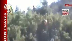 Rus pilotun ele geçirilme anı kamerada