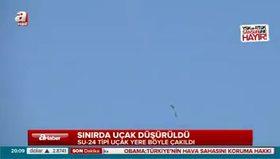 Sınırı ihlal eden Rus uçağı böyle düşürüldü!