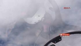 Rus savaş uçağı ABD uçağını böyle engellemiş