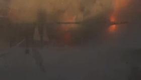 Bomba yüklü otomobil böyle patladı