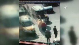 Diyarbakır'daki çatışmanın güvenlik kamerası kayıtları