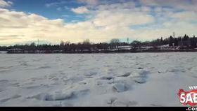 Dünyanın en büyük kar topu savaşı!