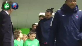 Zlatan Ibrahimovic'ten beklenmedik hareket