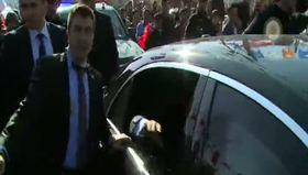Mardin'de Başbakan Davutoğlu'na sevgi seli