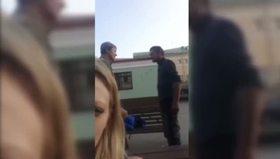 Sarhoşların kavgasına şahit olan Rus kızı