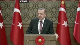 Erdoğan CHP'deki Atatürk krizini değerlendirdi