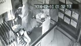 Maskeli hırsızlar kamerada