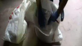 Kavurma kazanından 16 kilo uyuşturucu çıktı