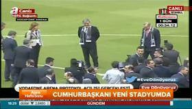 İlk santra Erdoğan ve Davutoğlu'ndan