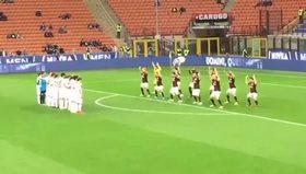 Milanlı futbolcuların dansı olay oldu!