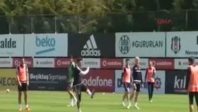 Beşiktaş idmanında yıldız futbolcular arasında gerginlik!