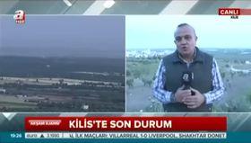 A Haber canlı yayındayken roket düştü