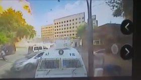 Gaziantep'teki bombalı aracın patlama anı!