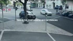 Engelli alanına park eden sürücülere ders