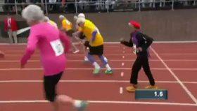 100 yaşında 100 metre rekoru kıran süper nine