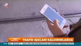İşte cep telefonu kullananlar için yeni trafik ışıkları