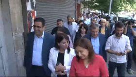 HDP'lileri Sur esnafından polis korudu!