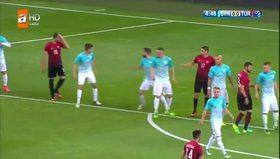 Maçtaki ilk gol Burak Yılmaz'dan geldi!