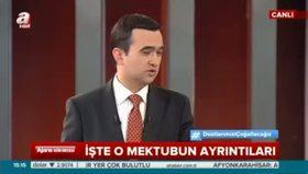'Erdoğan'ın mektubunda özür ifadesi kesinlikle yer almıyor'