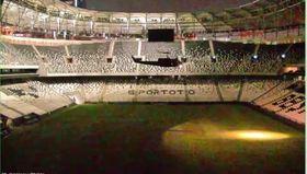 Darbeciler Vodafone Arena'ya böyle girdi