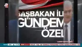Başbakan Yıldırım, A Haber'de!