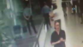 Şişli belediyesindeki silahlı saldırı kamerada