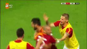 İşte Galatasaray'ın golü
