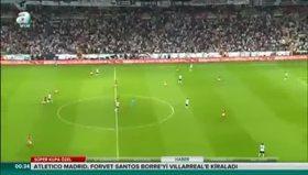 Beşiktaş 1-1 Galatasaray (Maç özeti)