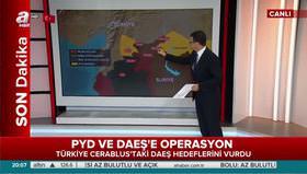 Türkiye PYD ve DAEŞ'i vurdu
