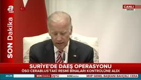 Cumhurbaşkanı Erdoğan ve Joe Biden ortak açıklama