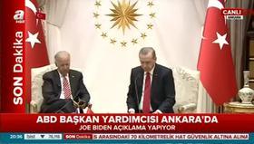 Cumhurbaşkanı Erdoğan ve Joe Biden ortak basın toplantısı