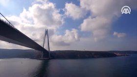 Yavuz Sultan Selim Köprüsü'ne ünlülerden özel klip