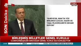 Cumhurbaşkanı Erdoğan'dan Düyaya FETÖ uyarısı