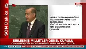 Erdoğan: Dünyayı 5 ülkenin ağzına mahkum edemezsiniz