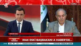 Irak eski başbakanı İyad Allavi'den çok özel açıklamalar