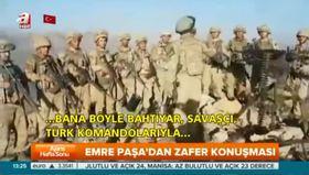 Emre Paşa'dan zafer konuşması