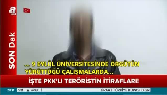 PKK'lı teröristten kan donduran itiraflar