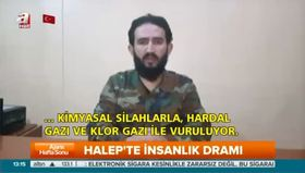 Halep'teki Türkmen komutan A Haber'e konuştu