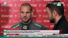 Sneijder: Kendimi Türk gibi hissediyorum