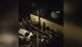 Reina saldırganın siteden çıkarılma anı kamerada