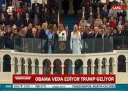 Trump İncil'e el basarak yemin etti