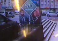 Polise ateş açan teröristin kaçış anı görüntüsü ortaya çıktı!